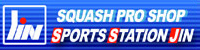 SQUASH PRO SHOP SPORTS STATION JIN